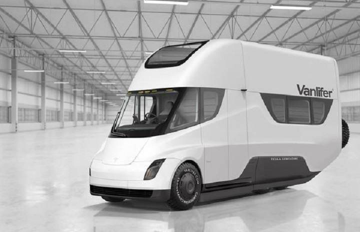 Tesla Semi-Home